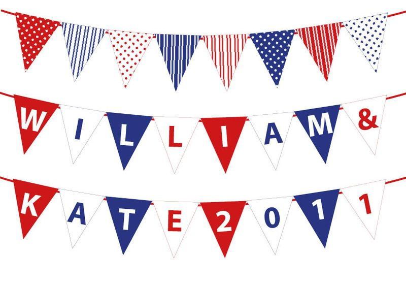 Royal Wedding mini bunting