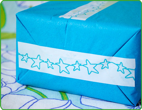 Blue-star-tape