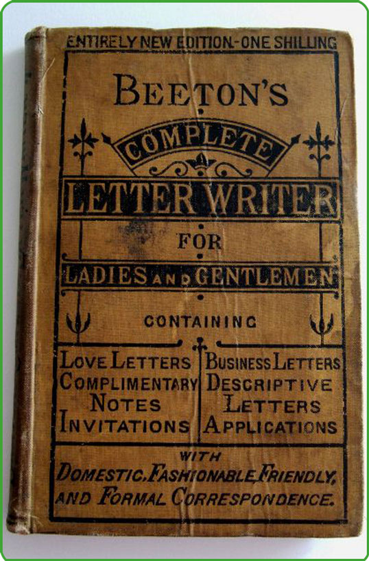Letter-writing-book