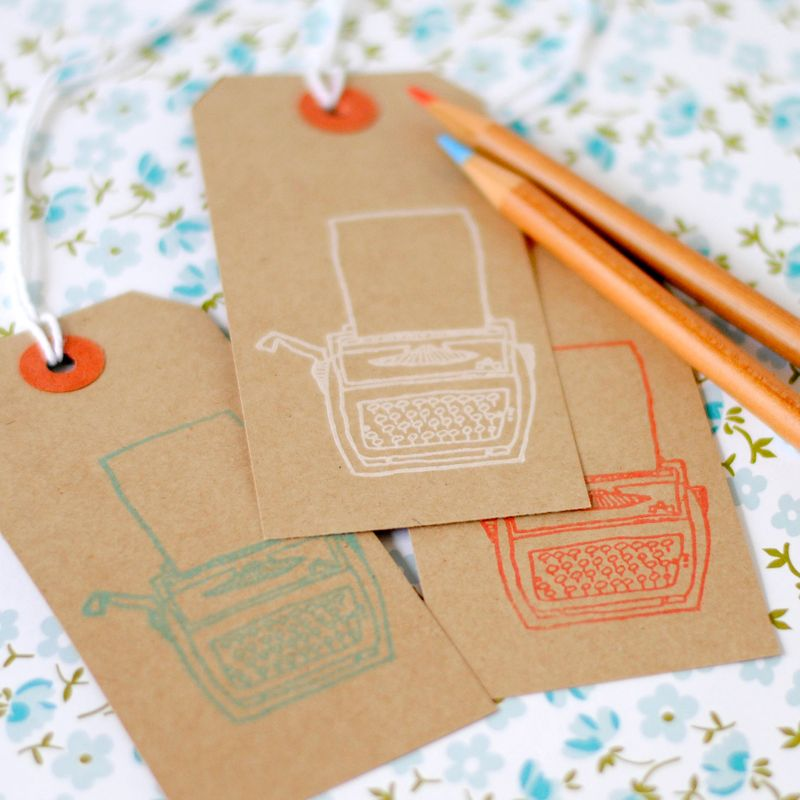 Typewriter-tags