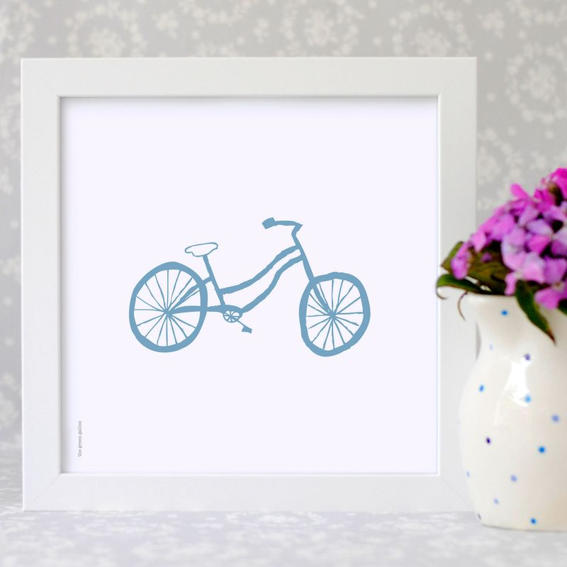 Bicycle-framed-print