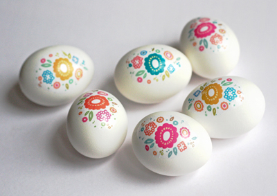 How About Orange floral-tattooed-eggs