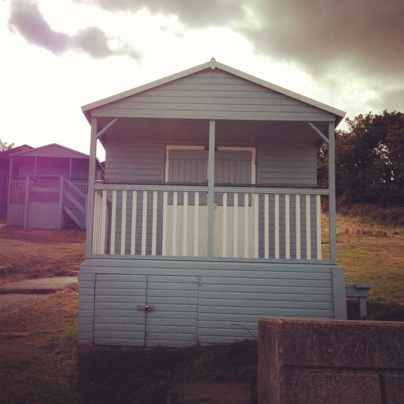 Whitstable beach hut